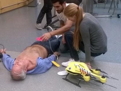 """Un """"drone ambulance"""" pour sauver des vies"""