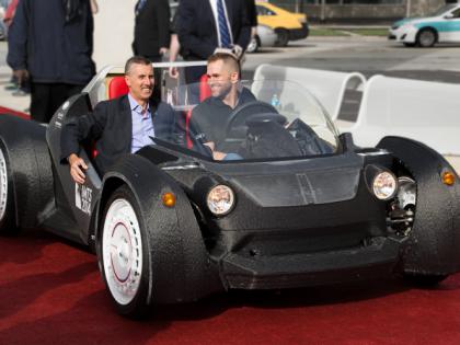 Strati : la première voiture imprimée en 3D