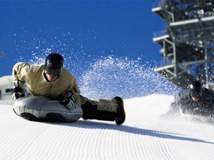 Le snow bodyboarding
