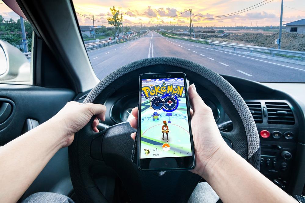 Pokémon voiture