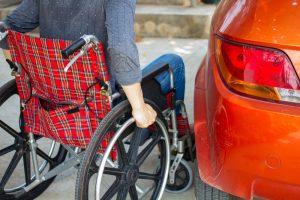 fysieke beperking en auto