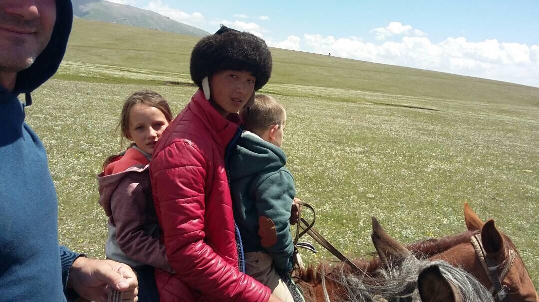 Tour à cheval en Kirghizstan