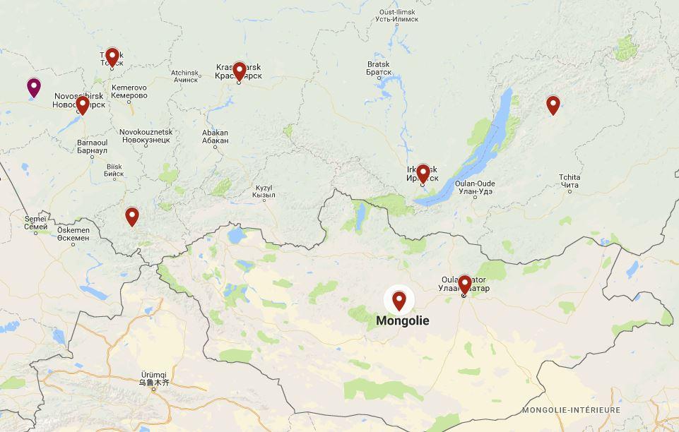 Sibérie-Mongolie