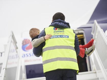 L'Avion des neiges 2018 d'Europ Assistance