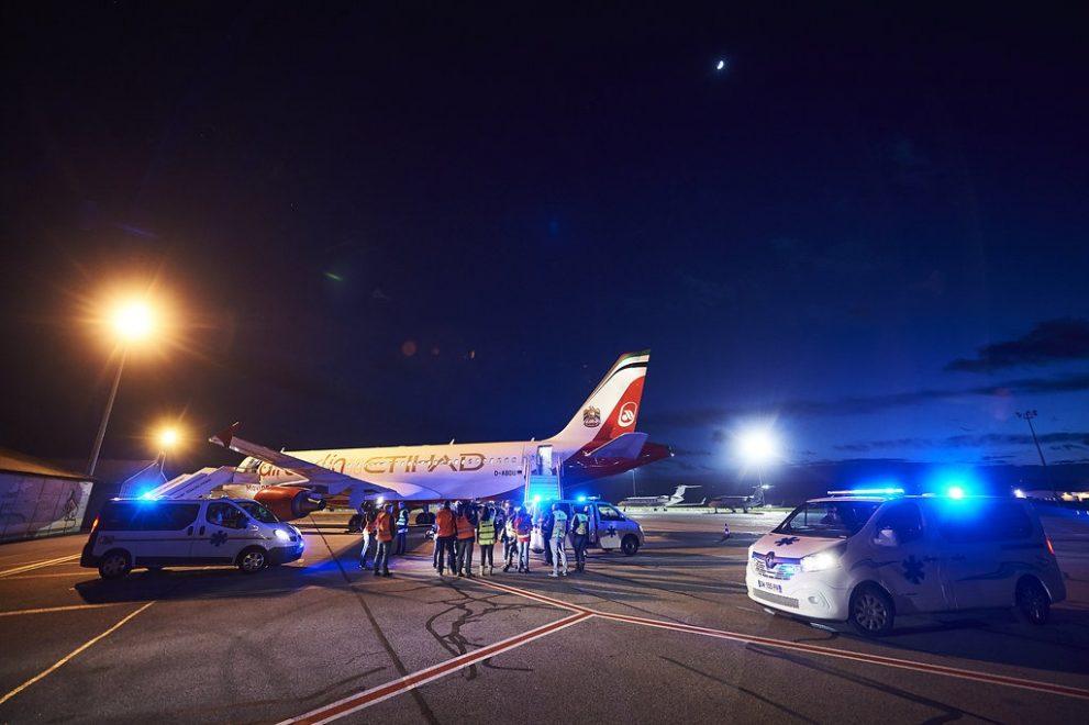 De gipsvluchten 2016 van Europ Assistance