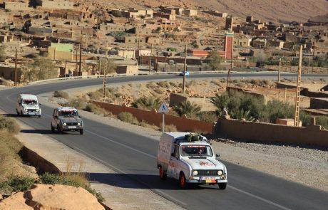 Le 4L Trophy : un voyage au Maroc en ancêtre