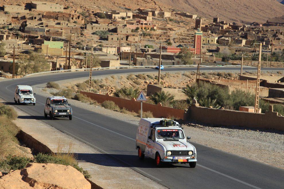 De 4L Trophy: een reis naar Marokko in een oldtimer