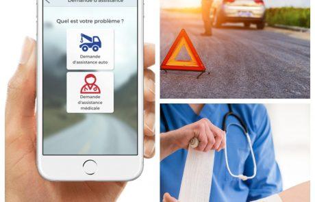 De mobiele app voor een technisch of medisch probleem