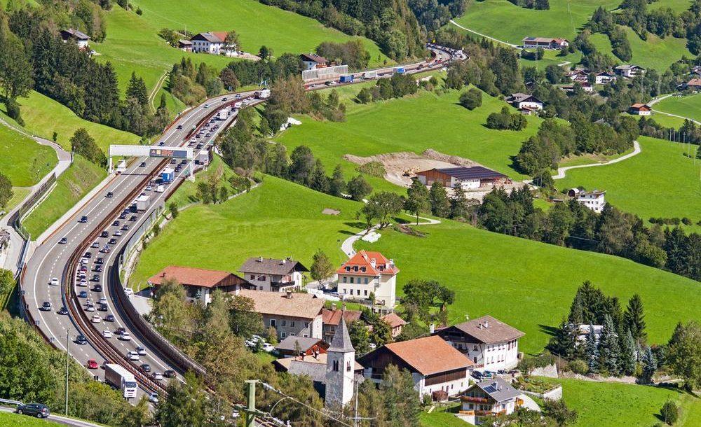 Wegcontroles in Tirol in de zomer 2019
