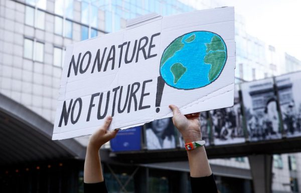 """Open brief van """"Rise for Climate"""""""
