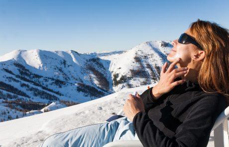 Geen ski of snowboard zonder zonnecrème