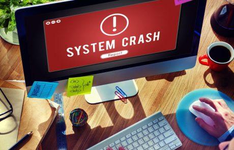 Wat moet u doen bij een computercrash?