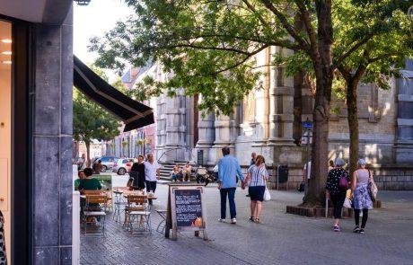 Les GR des villes wallonnes