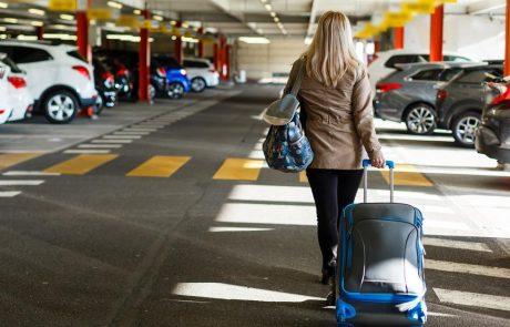 Een parking vinden aan de luchthaven