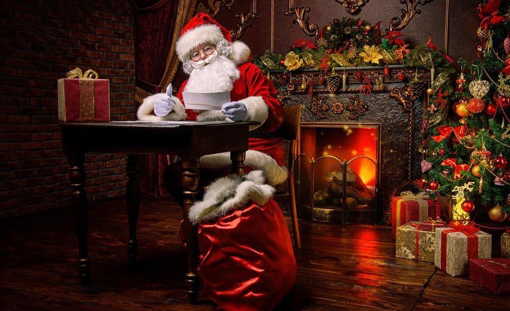 Op bezoek bij de Kerstman