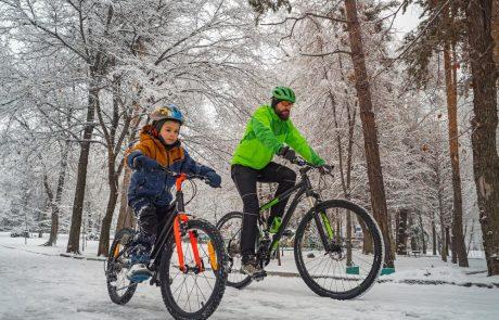 Veilig met de fiets in de winter