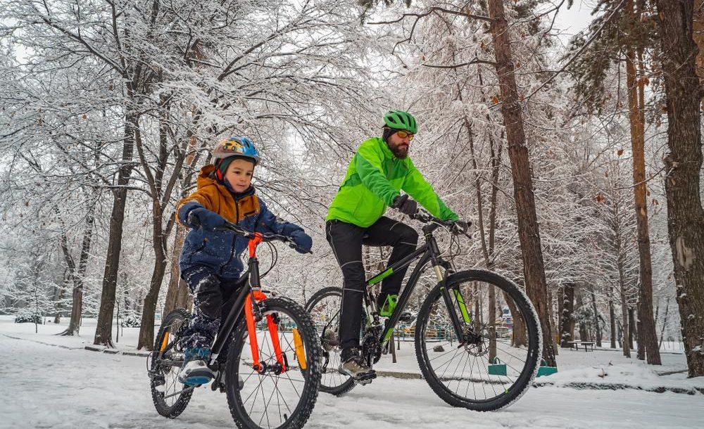 Rouler à vélo en hiver en toute sécurité