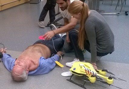 """Een """"ambulance-drone"""" om levens te redden"""