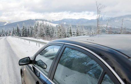 Het verkeer naar de Alpen deze winter