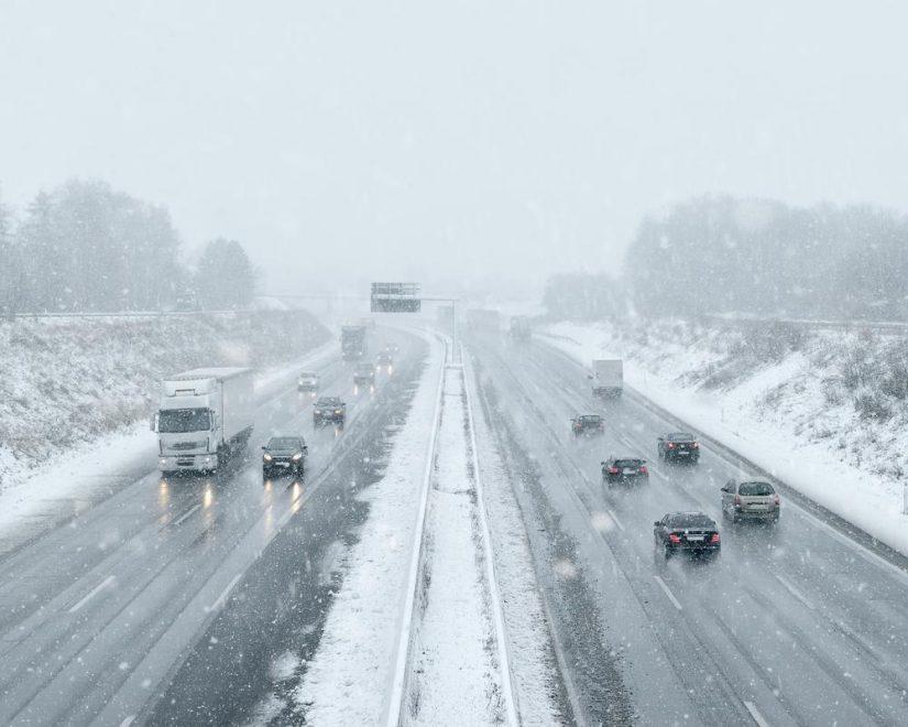 Het verkeer naar de Alpen deze winter (2019)