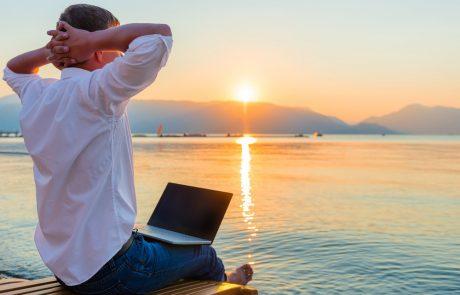 Lâcher le travail pendant les vacances: pas évident!