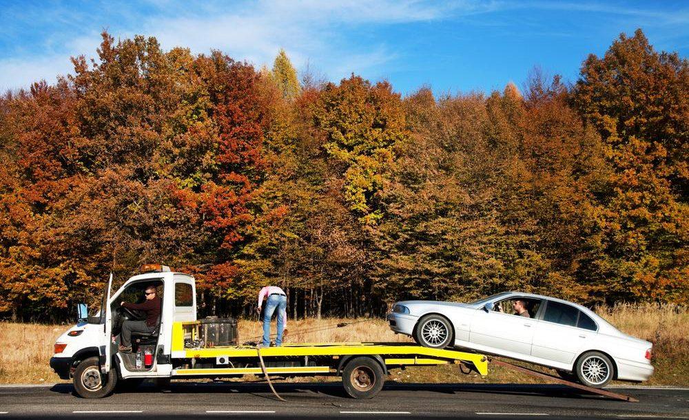 FAST lors d'une panne sur autoroute en Flandre