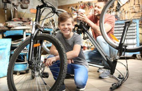 Het onderhoud van de fiets