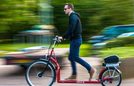De Lopifit: wandelen op een fiets