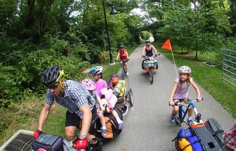 Je eerste fietsweekend met het gezin