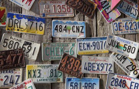 Een gepersonaliseerde nummerplaat