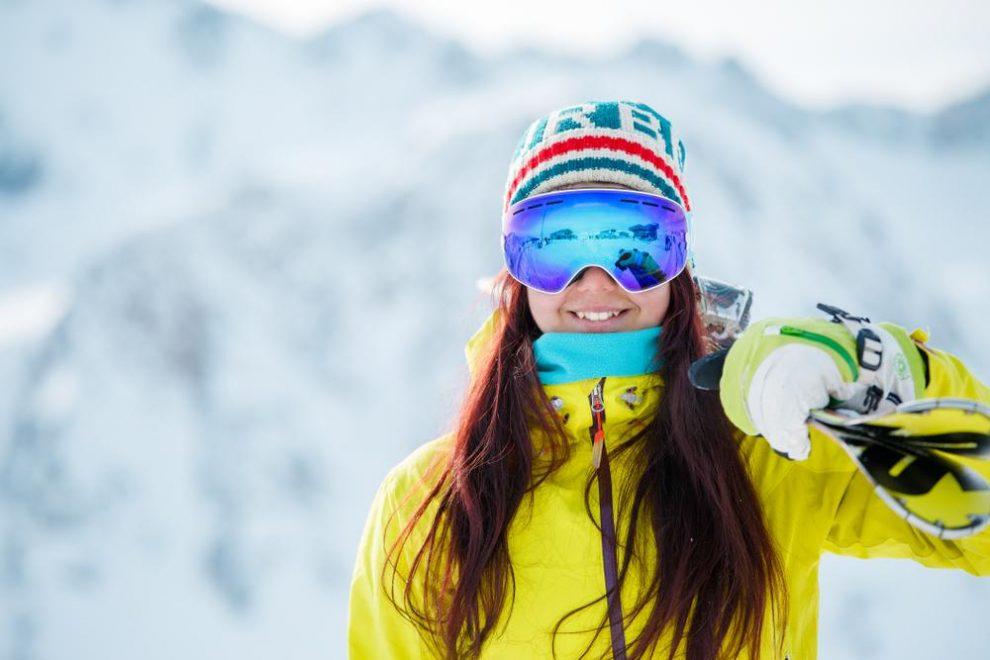Een goede skibril tegen sneeuwblindheid