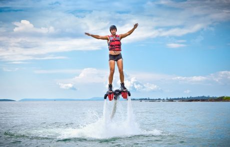Jetlev en flyboard: twee nieuwe watersporten