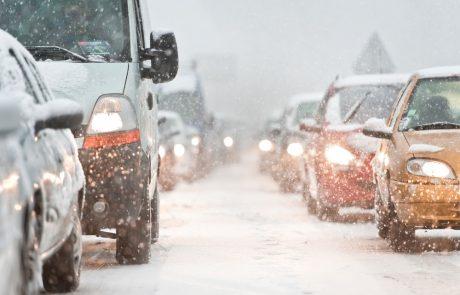 Tips om veilig te rijden op een besneeuwde weg