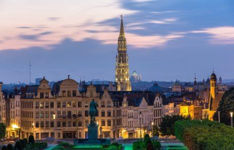 De panoramische terrassen van Brussel