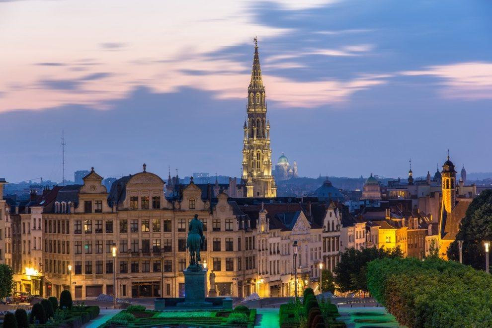 Les terrasses panoramiques de Bruxelles