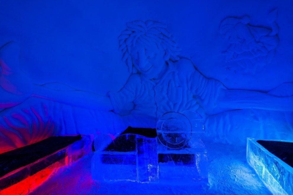 Les hôtels de glace : une expérience unique