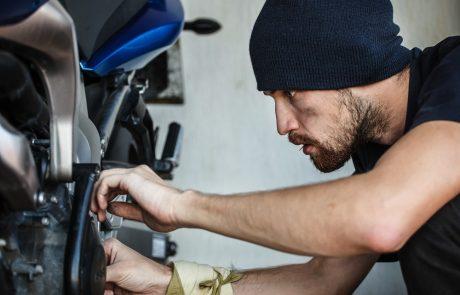 L'entretien de printemps de la moto