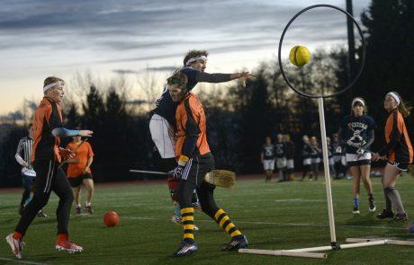 Zwerkbal (quidditch): niet alleen een tovenaarssport!