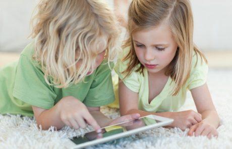 Tablets en jonge kinderen: een goede mix?