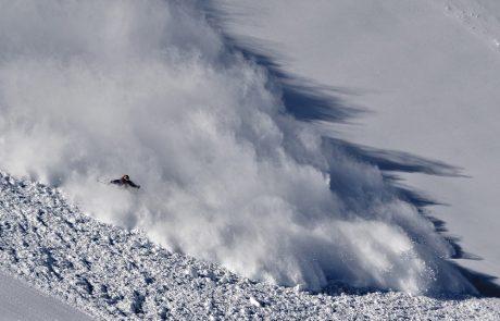 Een sneeuwlawine overleven