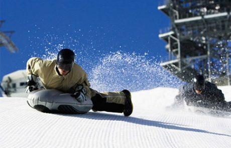 De snow-bodyboarding