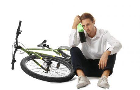 Dronken op de fiets = intrekking van het rijbewijs?