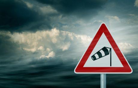 Conduire dans des rafales de vent