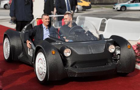 Strati: de eerste auto geprint in 3D